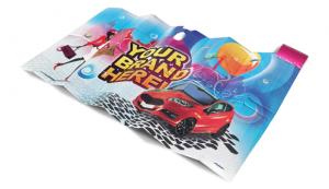 Car Sunshade, Advertising Car Sunshade Tiny, Thermal Car Sunshades, R3D
