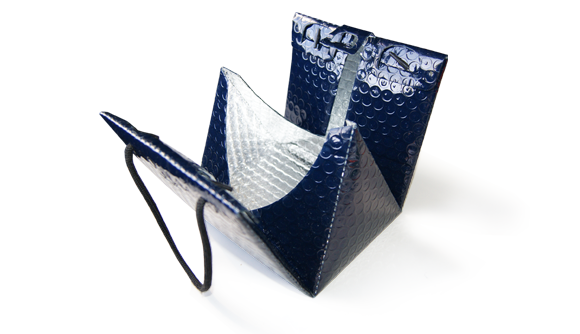 Triangular thermal bag